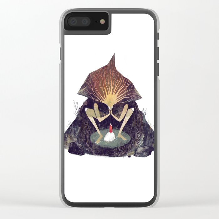 Forest Lord Clear iPhone Case