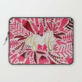 As If – Pink & Gold Laptop Sleeve