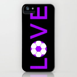 Soccer Love iPhone Case