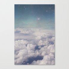Galaxy clouds Canvas Print