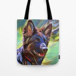The Sable Shepherd Tote Bag