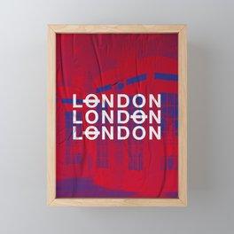 London slap up Framed Mini Art Print