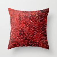 cuba Throw Pillows featuring Cuba by Jose Luis