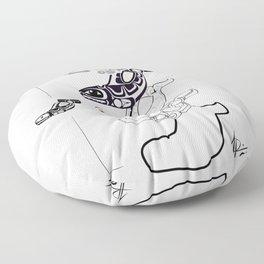 Whale Floor Pillow