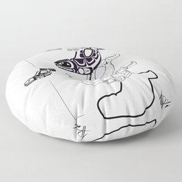 Whale Floor Pillow