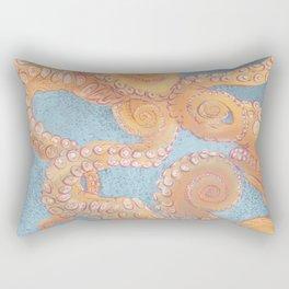 Octopus tentacle Rectangular Pillow