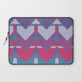 Cool Waves #society6 #violet #pattern Laptop Sleeve