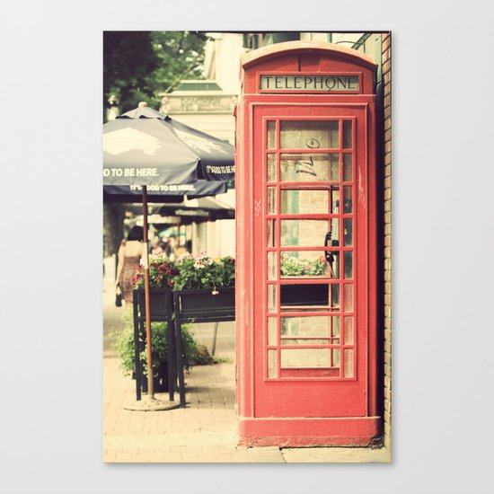 London calling ... Canvas Print