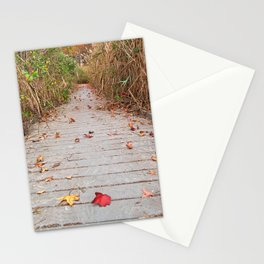 Autumn Marsh Boardwalk Stationery Cards