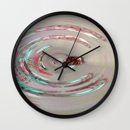 Pool of Boop Wall Clock