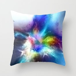 θ Atlas Throw Pillow