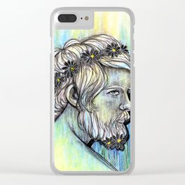 LUCIO Clear iPhone Case