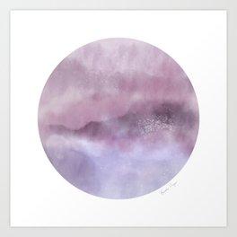 Cleveland Color Stories: Lavender Light Art Print