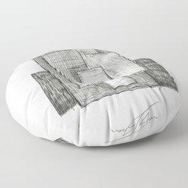 RBS 6 Nations by Tade Garben Floor Pillow