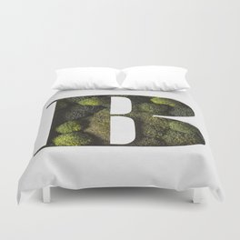 Broccoli Forest Bodoni Duvet Cover