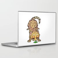 cheetah Laptop & iPad Skins featuring Cheetah by Suzanne Annaars