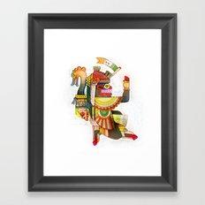 Serpent Bearer Framed Art Print