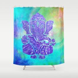 Ganesha II Shower Curtain