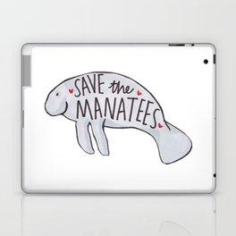 Save the Manatees Laptop & iPad Skin