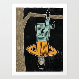 The Hanged Man Art Print