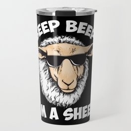 Beep Beep I'm A Sheep Travel Mug