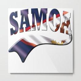American Samoa Metal Print