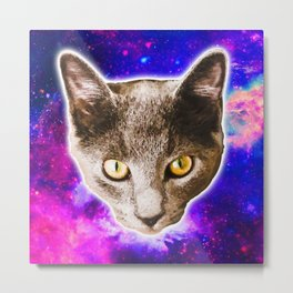 Cosmic Marvin Metal Print