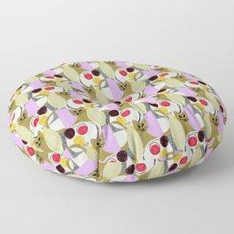 Still Life with Cat Floor Pillow