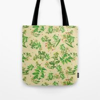 cigarettes Tote Bags featuring Coffee and Cigarettes by uhohreilly