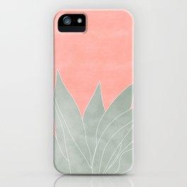 peachy agave iPhone Case