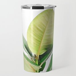 Rubber tree Travel Mug