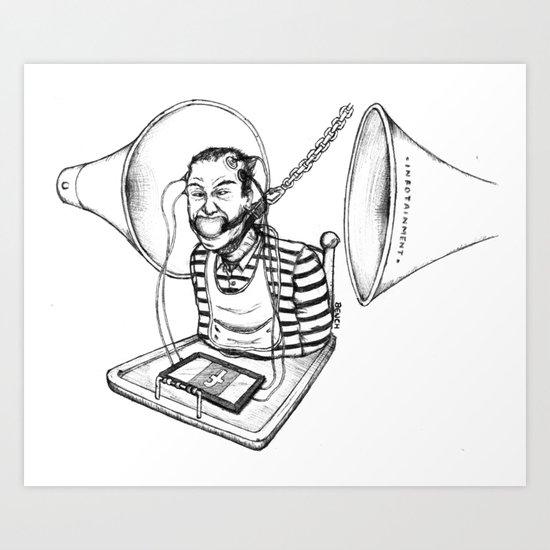 Infocratie Art Print