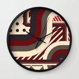 Pattern Overburst Wall Clock