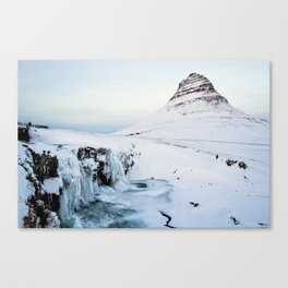 Kirkjufell Waterfall Canvas Print