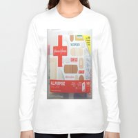 band Long Sleeve T-shirts featuring Band Aid by Robin Curtiss