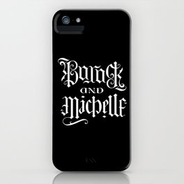 Barack and Michelle iPhone Case