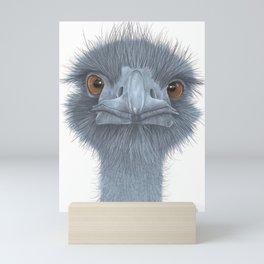 The Blue Emu Mini Art Print