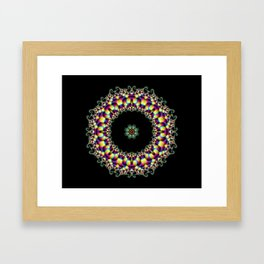 Amazing Mandala Framed Art Print