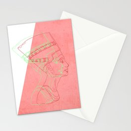Nefertiti - egyptian heritage Stationery Cards