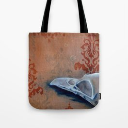 Oil Paint Study - Magpie Pattern Tote Bag