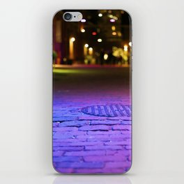 The Distillery District at Night iPhone Skin
