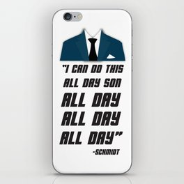 All Day | New Girl iPhone Skin