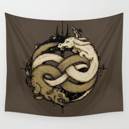 NEVERENDING FIGHT Wall Tapestry