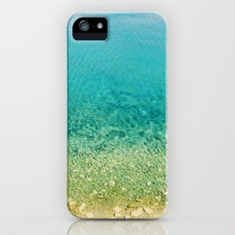 Mediterranean Sea, Italy, Photo iPhone Case