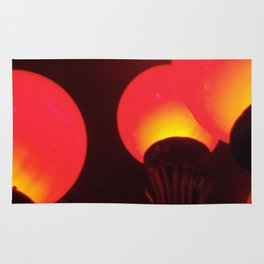 Red Lamp Rug
