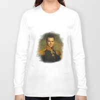 replaceface Long Sleeve T-shirts featuring Matt Damon - replaceface by replaceface