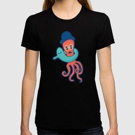 Pulpo con flotador T-shirt
