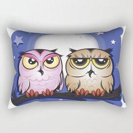 Night Owls Rectangular Pillow