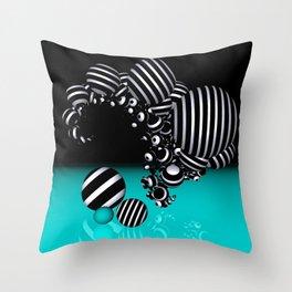 going mandelbrot -5- Throw Pillow