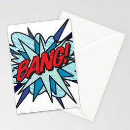 Comic Book Pop Art BANG Stationery Cards